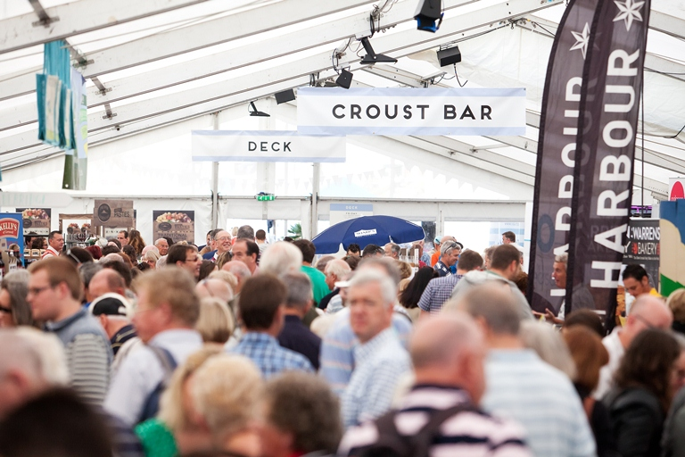 Back on form with Cornwall's biggest food and drink festival!