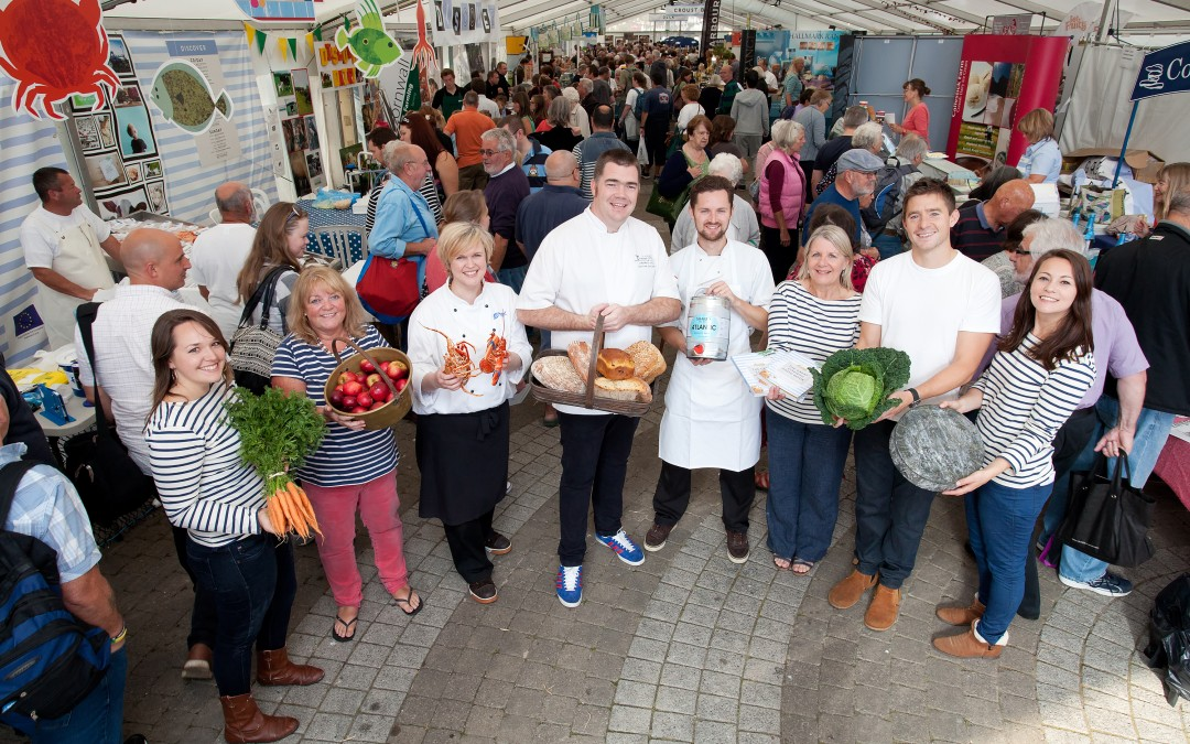 The Great Cornish Food Festival is worth over £3m to Cornwall's economy