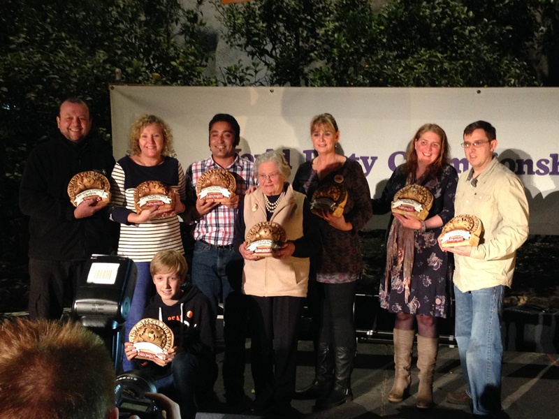 Pasties are back in the spotlight – the 2015 World Pasty Championships