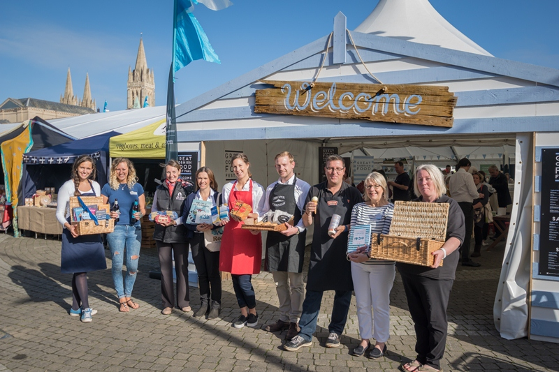 Save the Date –  Great Cornish Food Festival: 23, 24, 25 September.