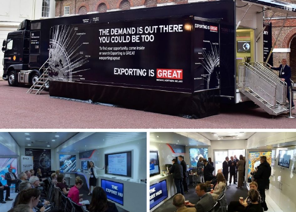 Get on board the Export Hub truck….